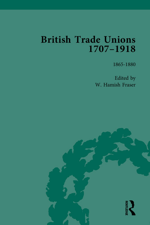 Cover of British Trade Unions, 1707-1918, Part II