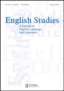 Cover of English Studies