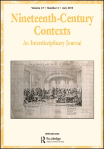 Cover of Nineteenth-Century Contexts