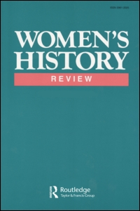 Cover of Women's History Review