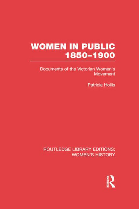 Cover of Women in Public 1850-1900