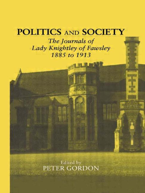 Cover of Politics and Society