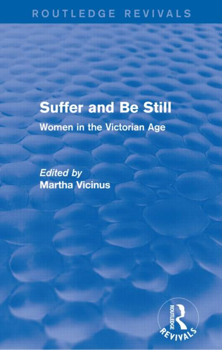 Cover of Suffer and Be Still