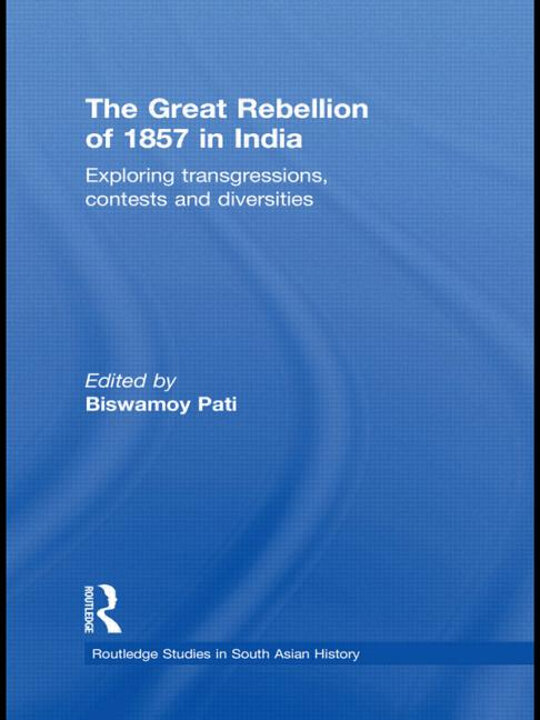 Cover of The Great Rebellion of 1857 in India