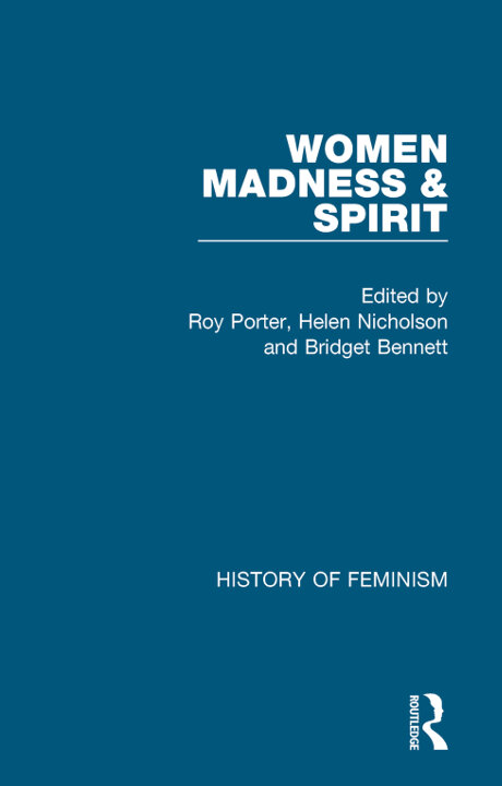 Cover of Women, Madness and Spiritualism