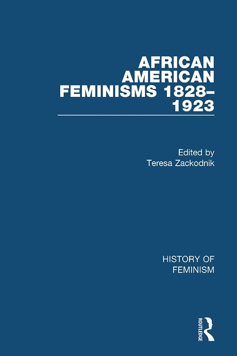 Cover of African American Feminisms, 1828-1923