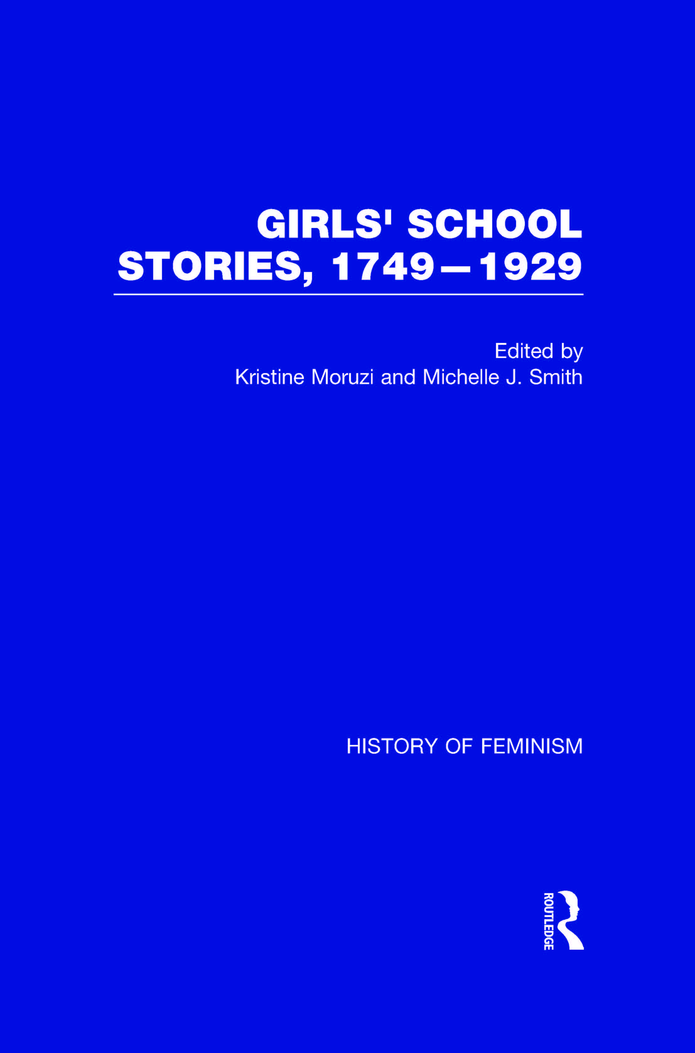 Cover of Girl's School Stories, 1749-1929