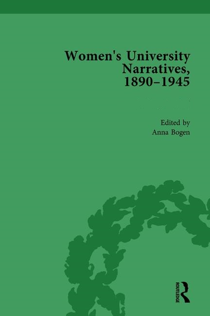 Cover of Women's University Narratives, 1890–1945